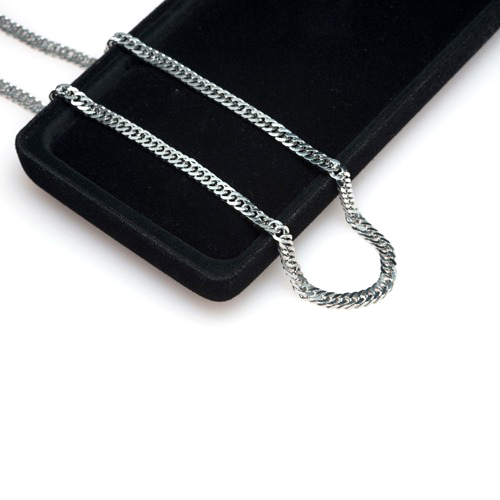 TC-216 - TATIAS, Titanium Chain Necklace