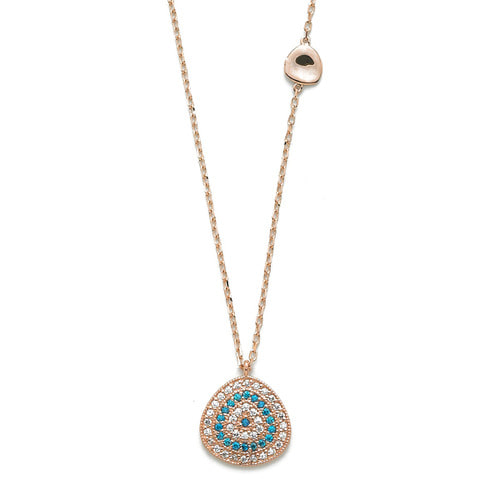 GN-311 - TATIAS, 14K & 18K Gold Pendant Necklace