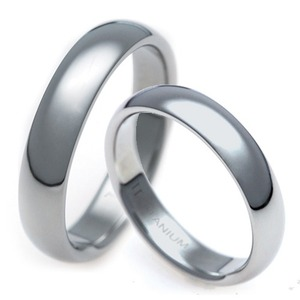 T-851 CO - TATIAS, Titanium Couple Ring