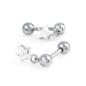 TEP-311 - TATIAS, Titanium Earrings or Ear Piercings