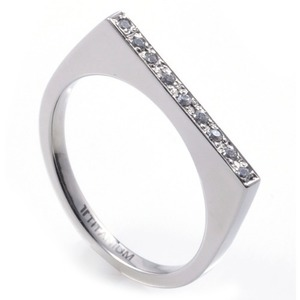 T-276 DIA - TATIAS, Titanium Ring set with Diamondss