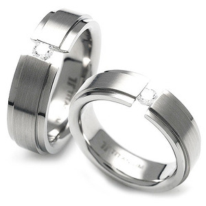 TQ-209 CO - TATIAS, Titanium Couple Ring