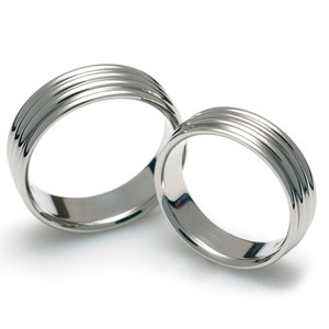 T-083 CO - TATIAS, Titanium Couple Ring