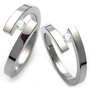 T-075 CO - TATIAS, Titanium Couple Ring