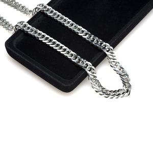 TC-217 - TATIAS, Titanium Chain Necklace