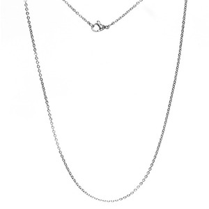 TC-213 - TATIAS, Titanium Chain Necklace