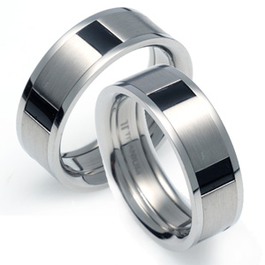 T-800 CO - TATIAS, Titanium Couple Ring