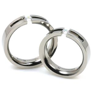 T-723 CE - TATIAS, Titanium Couple Ring