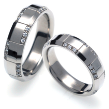 T-318 CO - TATIAS, Titanium Couple Ring