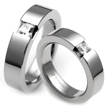 T-365 CO - TATIAS, Titanium Couple Ring